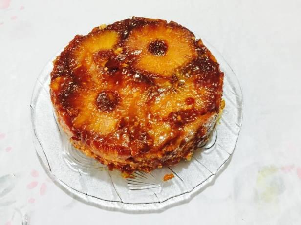 Keke de piña