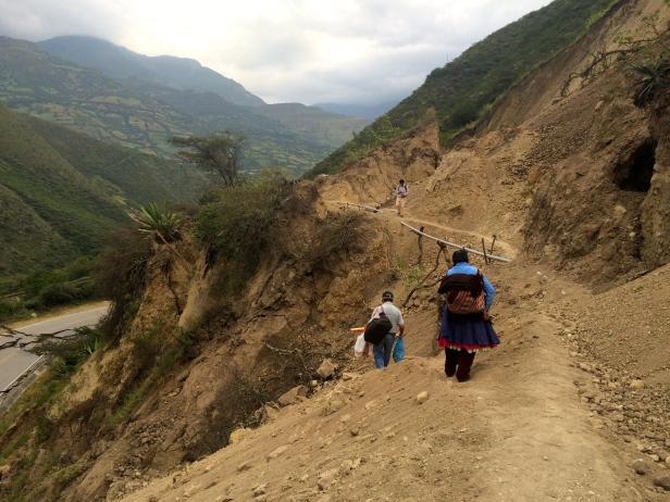 Transbordo peruanos