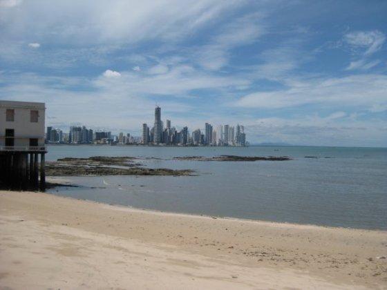 Panama City playa